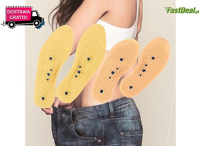 Magnetyczne wkładki do butów