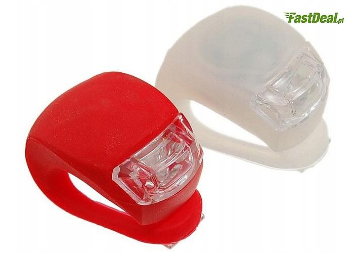 Ledowe lampki rowerowe