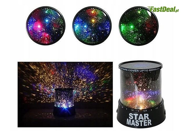 Projektor gwiazd – lampka nocna