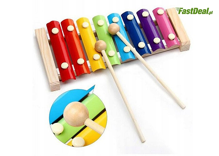 Kolorowe cymbałki
