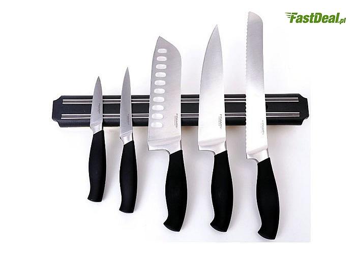 Magnetyczny uchwyt na noże