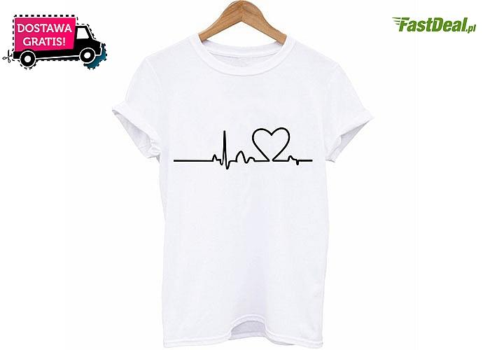 Koszulka z sercem