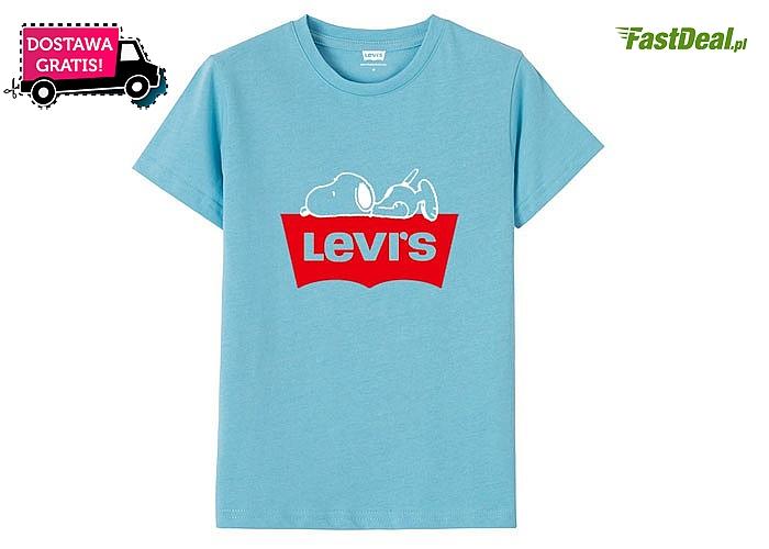 Bluzka dziecięca Levi's Snoopy