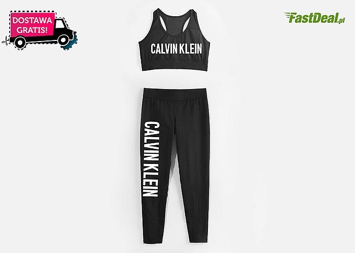 Legginsy i top Calvin Klein