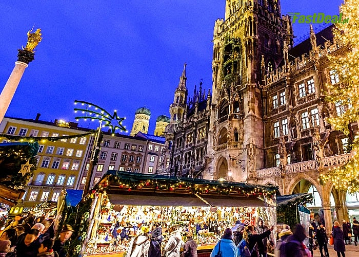 Jarmark Bożonarodzeniowy Monachium Express