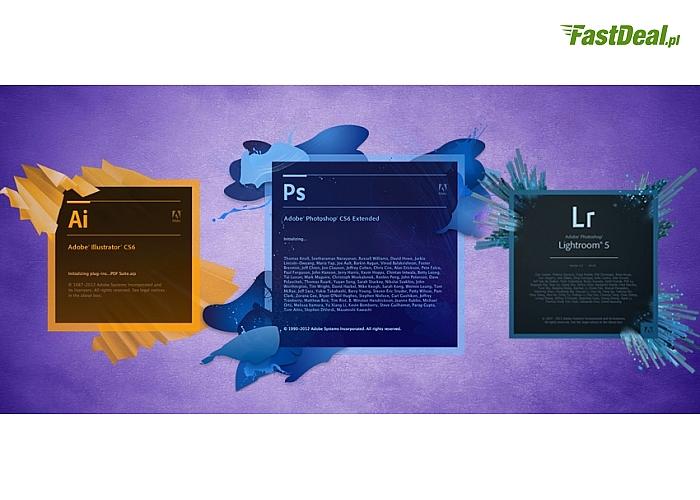 Kurs z pełnego pakietu Adobe!