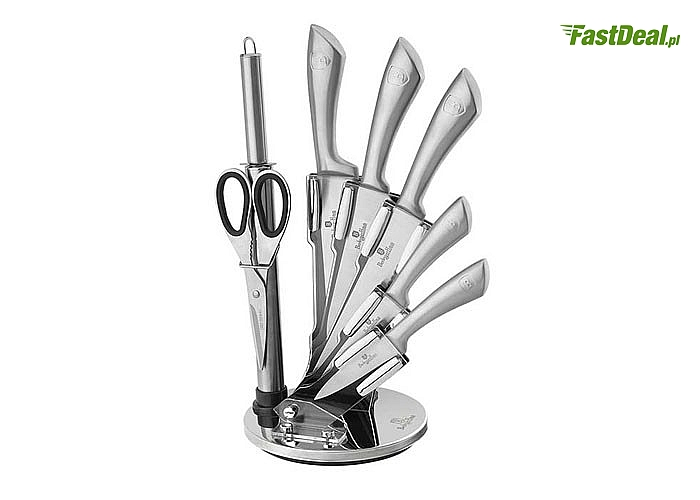 Noże w stojaku BERLINGER HAUS