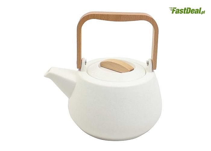 Ceramiczny czajniczek - zaparzacz