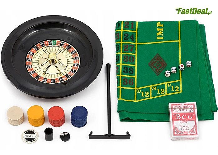 Zestaw do gry w pokera 5w1