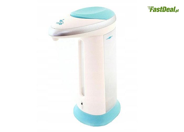 Bezdotykowy, higieniczny dozownik do mydła