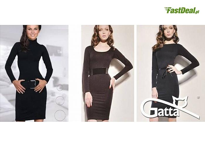 9267448ec9 SUKIENKA marki GATTA (GAT10). Klasyczna mała czarna dostępna w trzech  eleganckich wersjach!