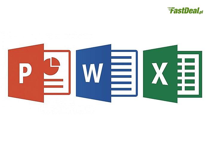 Kurs online Microsoft Office 2013(Excel początkujący, Excel średniozaawansowany, Powerpoint i Word) Dla 1 lub 2 osób!