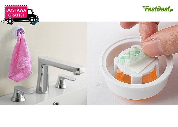 KLIPS/WIESZAK do ręczników i ściereczek. Proste, uniwersalne rozwiązanie dla twojego domu! Przesyłka GRATIS.