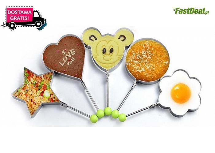 Metalowe foremki do jajek sadzonych: 5 ciekawych kształtów. Przygotuj estetyczny posiłek! Wysyłka GRATIS!