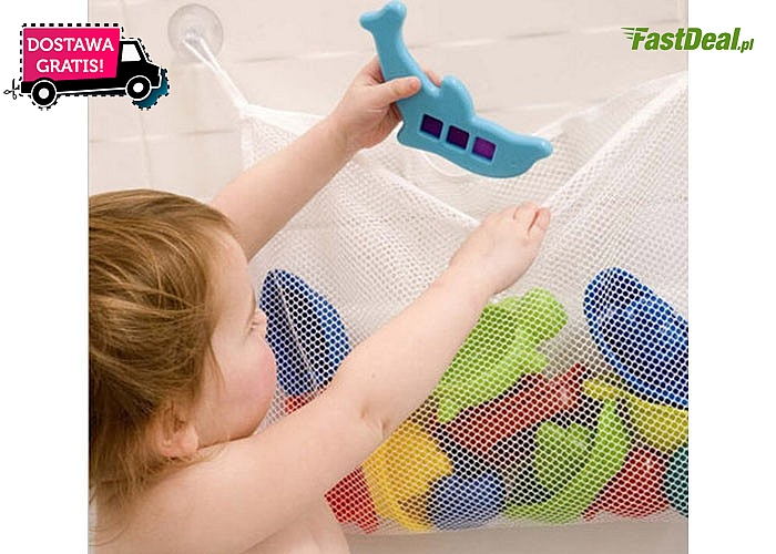 Hit! Worek łazienkowy na zabawki! Najwyższa jakość! Zwierzęce wzorki!