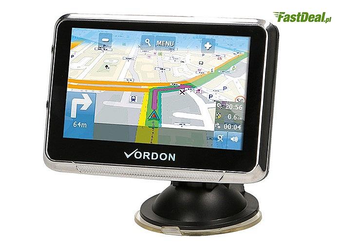 Nawigacja samochodowa GPS z mapami Polski i Europy