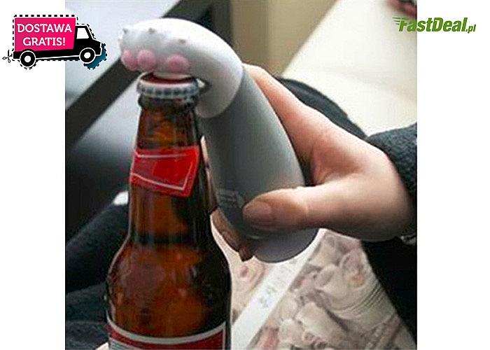 """Absolutny HIT! Niezwykle kreatywny otwieracz do piwa """"Kocia łapa""""!"""