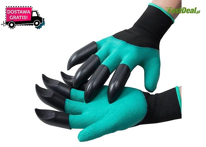 Rękawice ogrodowe, które zastąpią mnóstwo narzędzi! Wykonane z wysokiej jakości materiału! Nie ograniczają ruchów palców