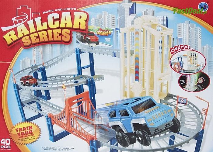 Tor samochodowy,doskonała zabawka dla małych chłopców i nie tylko...