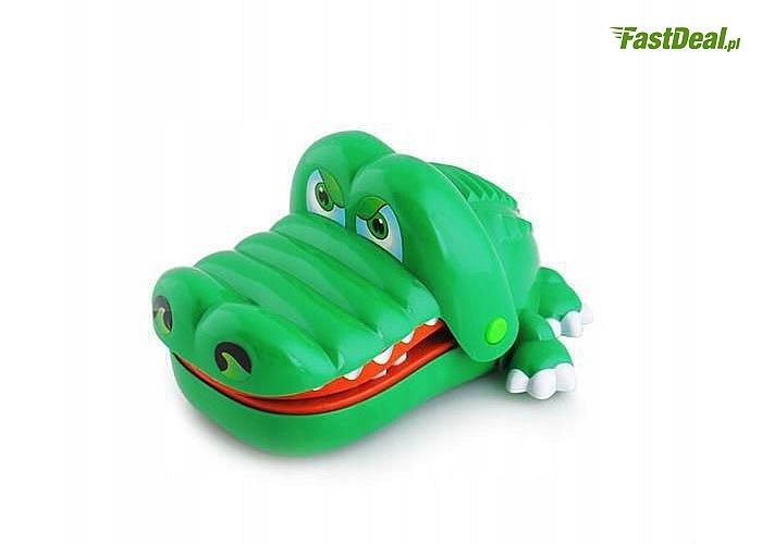 Chory ząbek u dentysty. Gra zręcznościowa Krokodyl dla Twojego dziecka! Świetna zabawa z egzotycznym zwierzakiem!