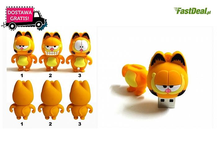 Garfield! Pendrive o pojemności 32GB w trzech modelach do wyboru. (33 zł)