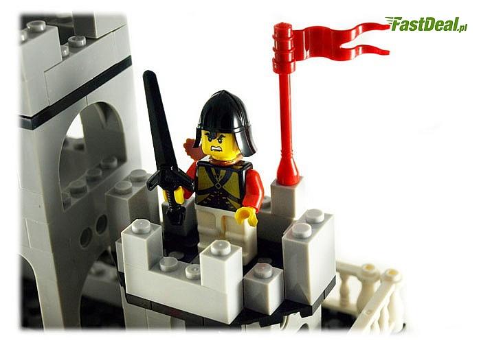 Zestaw klocków Twierdza / Zamek 301 elementów. Kompatybilny z oryginalnymi klockami LEGO