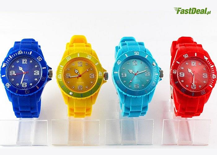 Nowość! Zegarek silikonowy Classic! Antyalergiczny! 4 kolory!