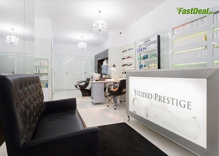 Modelowanie i strzyżenie, regeneracja z ampułką oraz sauna w 1 z 4 opcji. Studio Prestige przy Galerii Mokotów Warszawa!