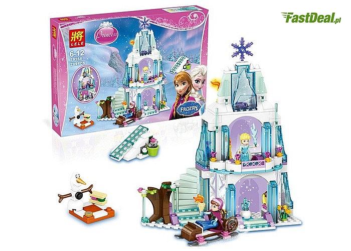 Zamek z krainy lodu! Klocki LELE! Wspaniała zabawa gwarantowana! Idealny na prezent!
