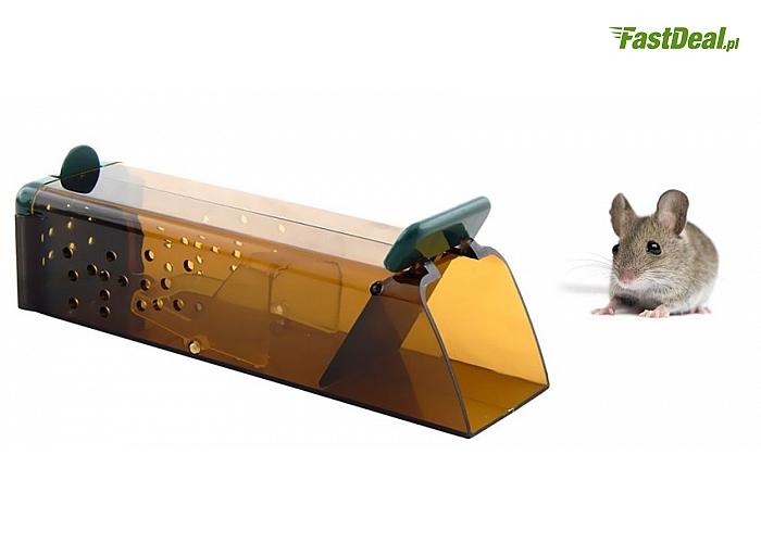ŻYWOŁAPKA na myszy TIXIE. Humanitarna - schwytane zwierzę pozostaje żywe i  można je wypuścić!