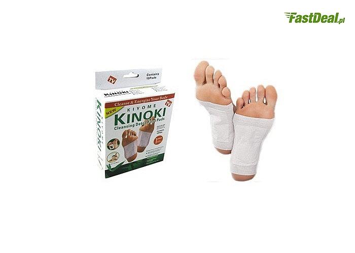 Usuń toksyny ze swojego organizmu! Plastry detoksykacyjne na stopy