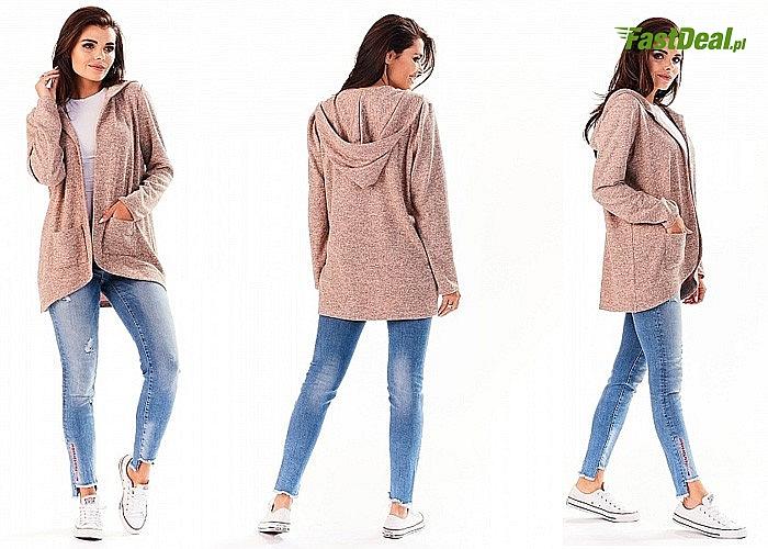 Przepiękny, bardzo kobiecy sweter! Wykonany z najwyższej jakości materiałów!