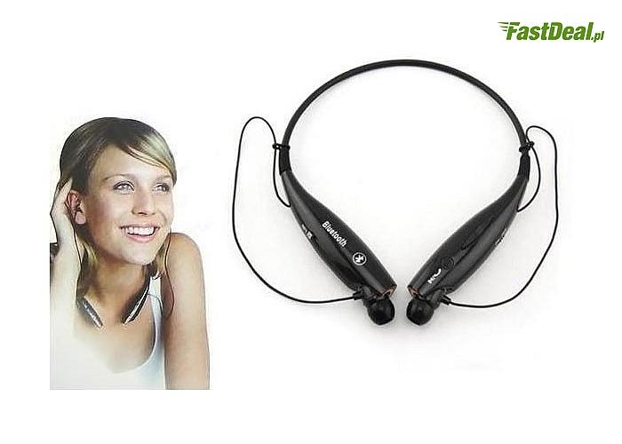 Markowy Zestaw Bluetooth HV-800 to zachwycające wyglądem i wygodą użytkowania słuchawki bezprzewodowe z mikrofonem