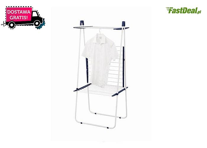 Leifheit! Suszarka pionowa Pegasus Tower na pranie! Duża ilość prania na bardzo małej powierzchni! Darmowa przesyłka!