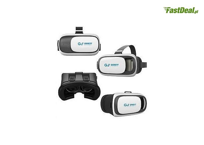 Gogle Garett VR2 + Pilot Bluetooth! Prosta i komfortowa obsługa! Odkryj świat wirtualnej rzeczywistości!