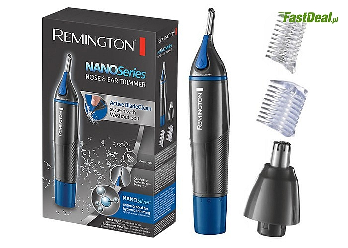 Remington Trymer do nosa uszu brwi NE3850 3w1