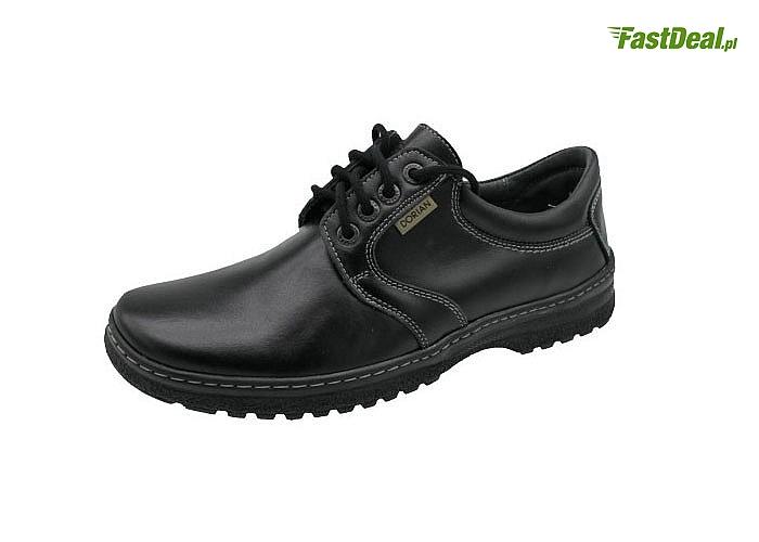 Solidne buty męskie,elegancja i wygoda na co dzień. 100% skóra