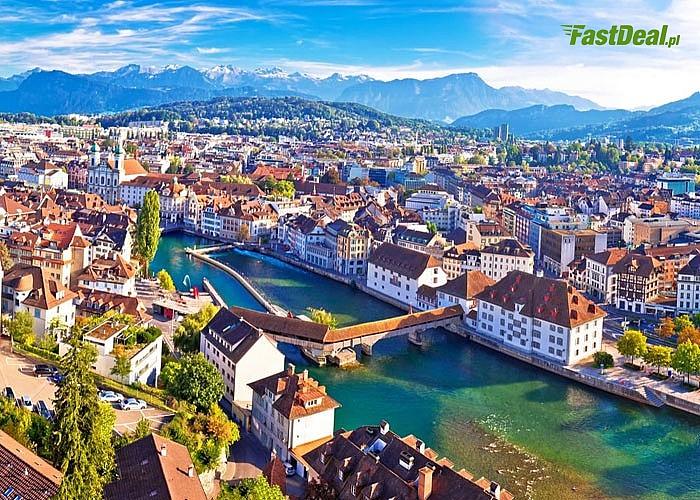 Szwajcaria – z widokiem na Cztery Kantony. Wyjazd autokarem klasy LUX, 2 noclegi w cenie!