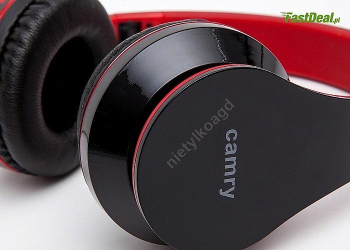 Bezprzewodowe słuchawki Camry CR1146 z technologią Bluetooth z funkcją rozmowy