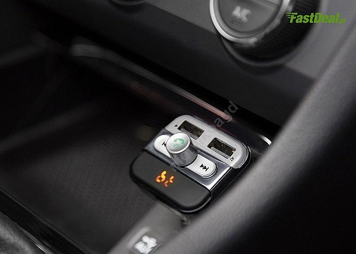 Transmiter Bluetooth z funkcją odbierania i wykonywania połączeń