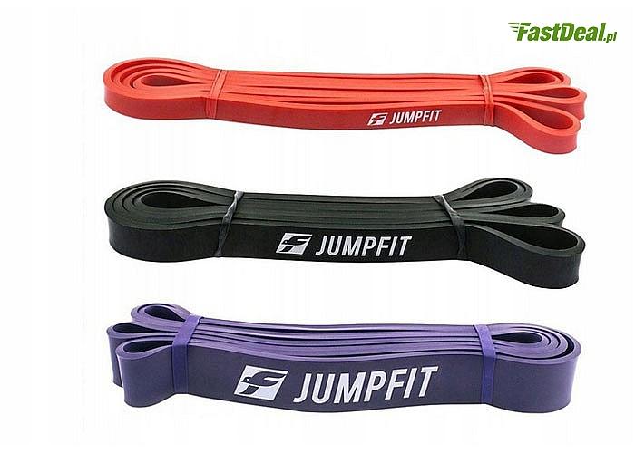 Rozciągnij swoje ciało! Zestaw 3 taśm do ćwiczeń marki Jumpfit!