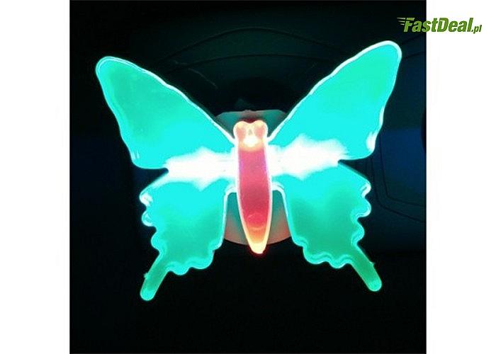 Lampka nocna w kształcie motyla! Idealna do pokoju każdej małej dziewczynki!