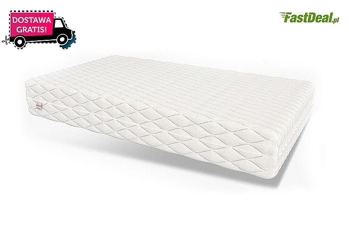 Nowoczesny materac z piankową technologią opracowana przez NASA! Wysoki komfort użytkowania i jakość snu!