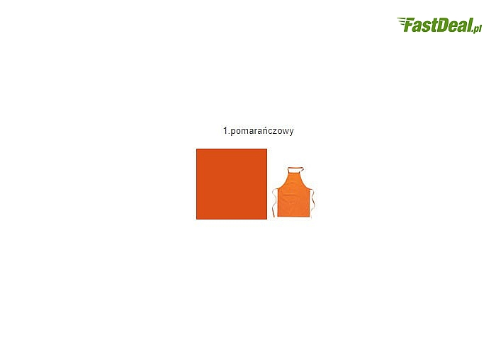 kolor pomarańczowy
