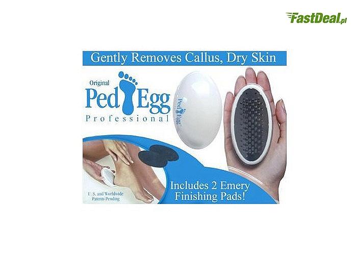 Marzysz o jedwabiście gładkich stopach zaopatrz się w Ped Egg tarkę do stóp