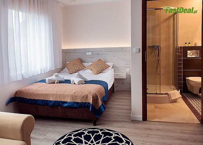 Specjalna oferta dla zakochanych par! Villa Andalucia! Gustowne pokoje z łazienką! Wyżywienie! Zabiegi!