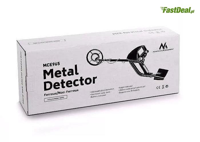 Wykrywacz metalu. Odszukaj zaginione skarby!! Wspaniała zabawa oraz przygoda