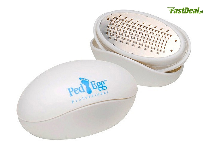 Zadbaj o piękne stopy! Higieniczna tarka Ped Egg zapewni Ci dziecięcą miękkość oraz gładkość