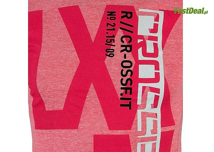 Koszulka Crossfit Reebok unikatowa kolorystyka ponadczasowy styl