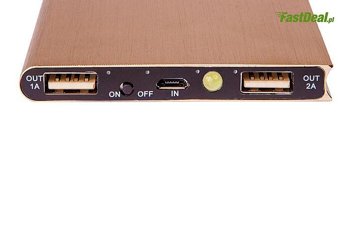 Power Bank 30 000 mAh lub 20000 mAh duża moc i elegancki designe